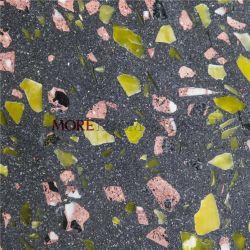 Polimento moderno piso em mosaicos de azulejos cinza sala