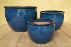Vasos de cerâmica, Plantadeiras de cerâmica vidrada, panelas, potes de jardim, vasos de cerâmica Gw8594