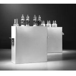 Rfm0.75kv 1000kvar 1000Hz Funace를 위한 전해질 수동적인 구성요소 물 냉각 축전기