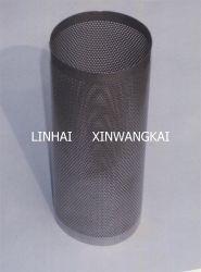Перфорированный сетчатый цилиндра для отделения для уборки риса
