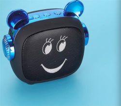 Nouveau Cartoon sourire face haut-parleur Bluetooth mini portable de plein air cadeau audio sans fil avec haut-parleur Bluetooth La carte de TF