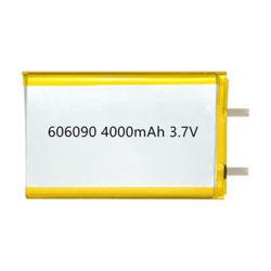 3,7 V OEM Naccon 10000mAh batterie polymère lithium ultra mince