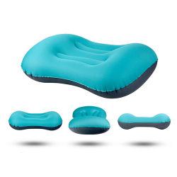 Oreiller gonflable portatif pour les voyages de camping en plein air