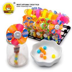 süsse Plastikform-Windmühlen-Ventilator-Spielzeug-Süßigkeit des gefäß-2g