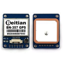 Beitian、1PPSのUart Ttlのレベル、GPS Glonass二重Gnssのモジュールのアンテナ受信機、フラッシュ、Bn.357が付いているGPSのモジュール
