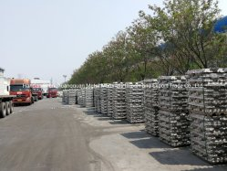 Faible prix lingot d'aluminium de 99,9 % sur la vente
