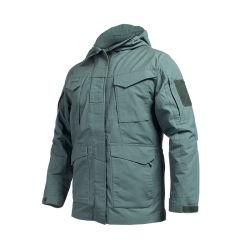 Una buena calidad de color verde militar M65 a prueba de frío para los hombres chaqueta de invierno