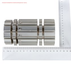 Oem Customized Cnc High Precision Machining Part Met Food Machinery Part Anodisatie