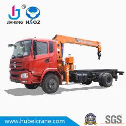 Barato HBQZ chinesas 6,3 ton Guindaste hidráulico na máquina de venda quente guindaste sobre Caminhão Basculante Caminhão de carga grua montada