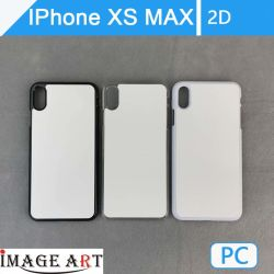iPhone Xs/Max のダミー 2D PC iPhone ケース / 加熱カバー 転送印刷
