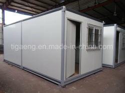 20 van het Prefab van de Cabine Stapelbare Vlakke van het Pak Modularizationf voeten Huis van de Container