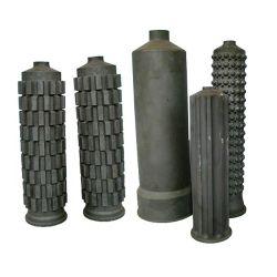 Sisic/Rbsic Silikon-Karbid-Wärmetauscher-Rohr und Gefäß mit hoher Arbeitstemperatur