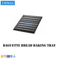 Panadería pan francés de aluminio bandeja de hornear pan baguette o Pan (ZMF-5N)