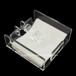 En acrylique transparent détenteur de la salle de bains serviette de table