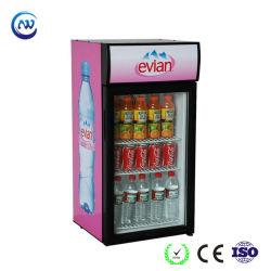 Piccolo frigorifero della visualizzazione del gelato del dispositivo di raffreddamento di vino del frigorifero della birra (JGA-SC80)