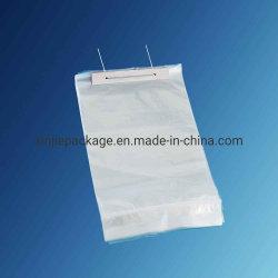 Il cubo di ghiaccio che impacca il sacchetto di ghiaccio di plastica del wicket del LDPE con il cliente possiede il marchio
