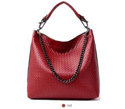 جرافة حقيبة اليد (WDL0876) الخاصة بمقبض سلسلة Nashged PU Fashion Lady Tote