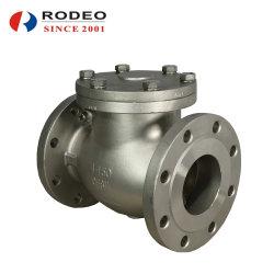 """2""""-12"""" 150KGS-1500lbs vanne de l'API valve en acier inoxydable bride en acier moulé du clapet antiretour de pivotement"""