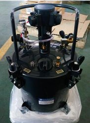Serbatoio di vernice automatica in acciaio inox con capacità 10 l per macchina a pressione