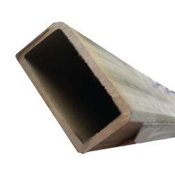 Quadrat/rechteckiges galvanisiertes StahlrohrRsh Shs Chs Kapitel-Gefäß