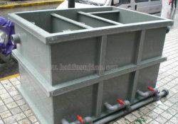 Feuille de PVC rigide gris extrudé Conseil pour le traitement de l'eau