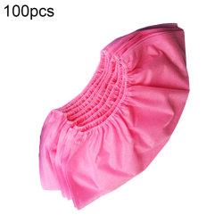 100PCS/Pack 처분할 수 있는 단화 덮개는 반대로 미끄러짐 비오는 날 양탄자 Overshoes 의학 시동 덮개 게스트 가족 공구를 방수 처리한다