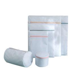 Impresos personalizados de alta calidad de la malla de lavado de ropa de la bolsa de lavandería