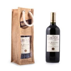 Sacs de jute fourre-tout de haute qualité pour le vin