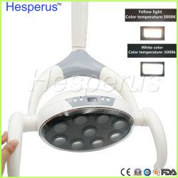 9 LEDs com Sensor de luz LED Dental Lâmpada oral para a cadeira da unidade de medicina dentária 22/26mm