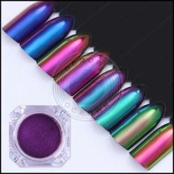 ネオン虹の無光沢の釘顔料、ゲルのポーランドの顔料、カメレオンの粉