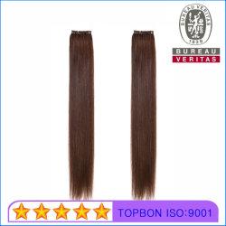 Grado Superior hacia abajo/No-Tip Hair Extension 100% virgen cabello humano.