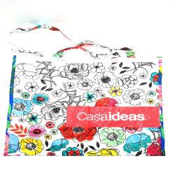 カスタム昇進の再生利用できるプラスチックによって薄板にされるジャンボ袋のPPによって編まれるショッピング・バッグ