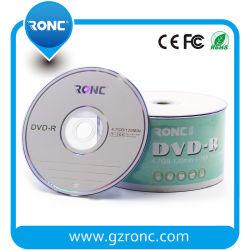 China Banheira de venda de material virgem DVD virgem-R 16X