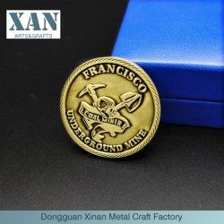 Antike Bronzezink-Legierungs-amerikanische kundenspezifische Andenken-Münzen