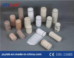 Crepe de algodão bandagem elástica Spandex crepe de bandagem elástica