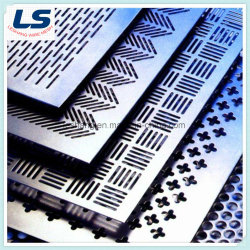 China-Fabrik des langes Loch-perforierten Metalls