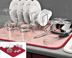 Küche-Abendtisch-Teller-Platte, die Microfiber Matte (YYDM-100, trocknet)