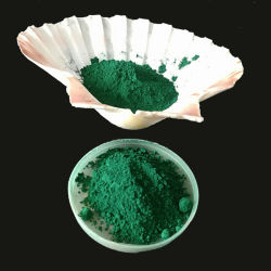 خرسانة صبغ يستعمل [إيرون وإكسيد] اللون الأخضر