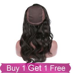 Оптовая торговля Virgin человеческого волоса в комплекте 360 кружева фронтальной закрытия