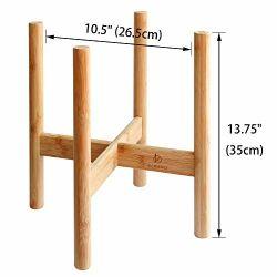 Для использования внутри помещений регулируется из темного дерева бамбук подставка для растений