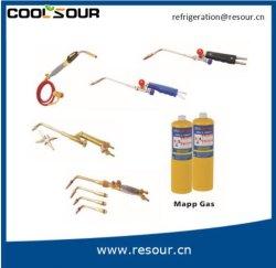 Сварка Coolsour медных труб и алюминиевых труб ручной фонарик сварочной горелкой