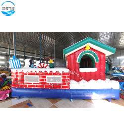 5*4 m de qualidade superior Bouncer insuflável de Natal Presente de Ano Novo