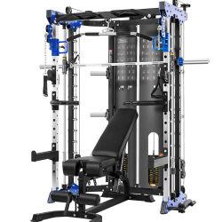 Лучшее качество домашний спортивный зал оборудование для фитнеса купить через Интернет Многофункциональный инструктор силу Смит машины