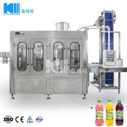 Línea de producción de limonada, jugo con pulpa de la máquina de llenado de jugo de monobloque, Máquina de Llenado en caliente