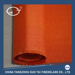 Soldadura eléctrica elevada resistencia a la temperatura de color rojo óxido de hierro revestido manta ignífuga
