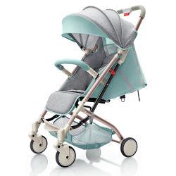 2020 Arbeitsweg-Baby-Spaziergänger 3 Aluminiumdes rahmen-Ts69 Babyprams-lederner des Spaziergänger-En1888 in 1 für Baby 0-3year