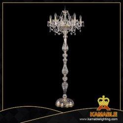 Décoration de fantaisie de luxe moderne en verre éclaireur plancher cristal (5511/5/195/-160)