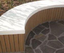 Marcação, SGS, Anti-UV WPC Madeira composto de plástico de bancada para relaxamento (HK-XM18B2)