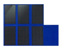 Складные 45W ПЭТ Солнечная панель с 18В постоянного тока зарядного устройства вывода