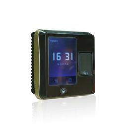 """2.8 """" RFIDの読取装置(F04)とのタッチ画面の指紋の時間出席そしてアクセス制御"""